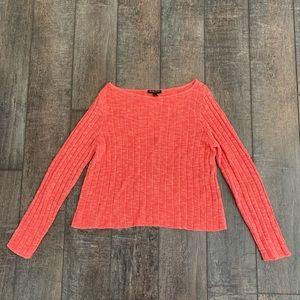 Eileen Fisher Petite Organic Cotton/Linen Top